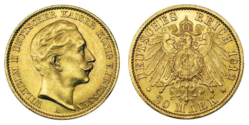 Германия 20 марок