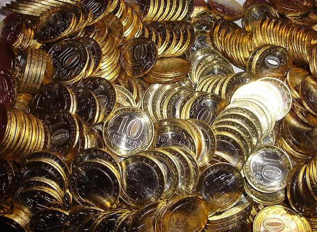 Россия юбилейные 10 рублей биметалл