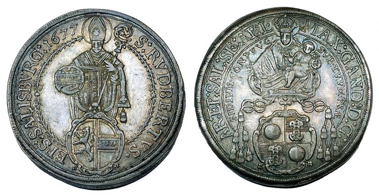Зальцбург Талер 1677