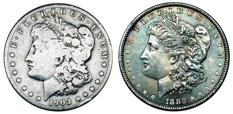 США Доллар 1878-1921