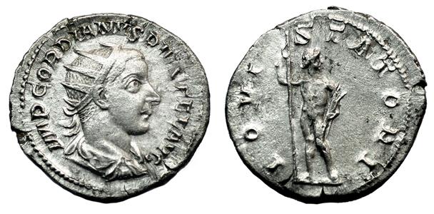 Рим Антониниан Гордиана III (238-244 гг. н.э.), серебро E13-18