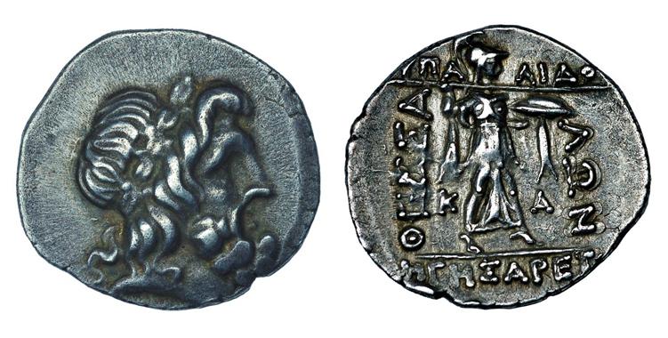 Фессалийская Лига Статер (II – I вв. до н.э.), серебро E100-130
