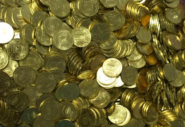 монеты 10 рублей ГВС