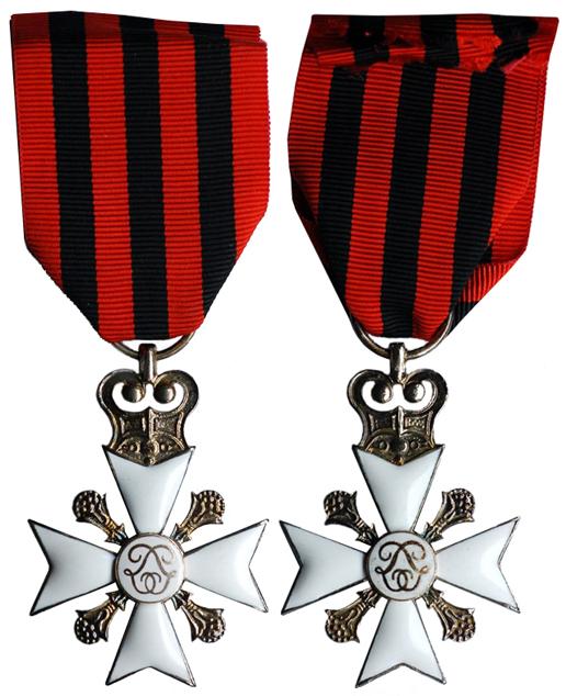 Бельгия Крест За гражданскую административную службу II класса (эмаль, серебро, 34 Х 34 мм), цена 12-15 евро