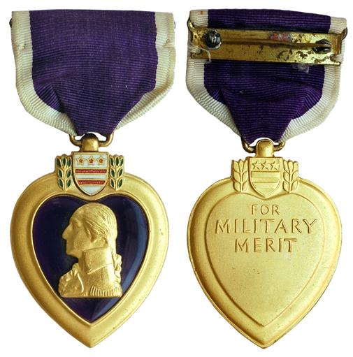 США Медаль Пурпурное Сердце (эмаль, бронза с позолотой, 35 Х 43 мм), цена 14-17.5 долларов