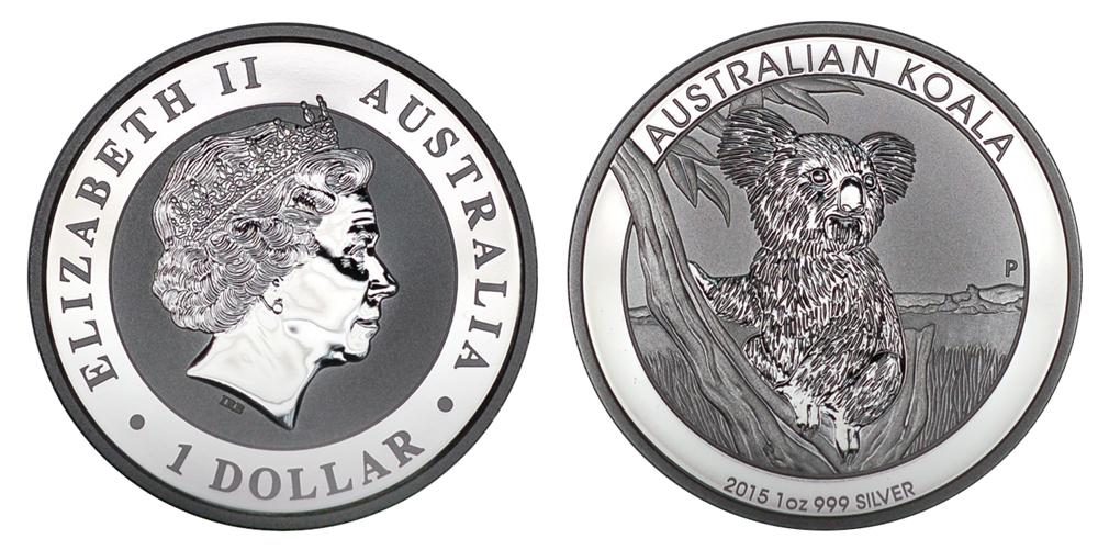 Австралия Доллар с 2009 г. Коала (1 унция серебра)