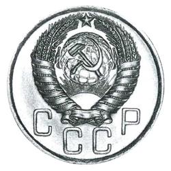 7 и 7 боковых лент в гербе (1957)
