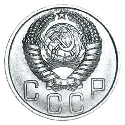 8 и 7 боковых лент в гербе (1948-1956)